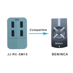 Beninca remote for garage door