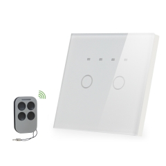 2 gang 1 way wall touch switch with remote reviews