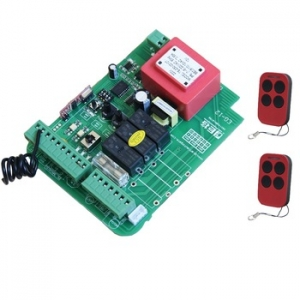 Sliding gate control board